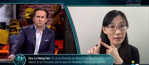 Exclusiva Informe COVID: Li-Meng Yan repite su mensaje con Iker.