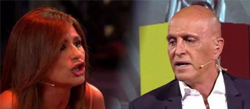 Gema López revela que a Kiko Matamoros le chivan por el pinganillo lo que tiene que decir