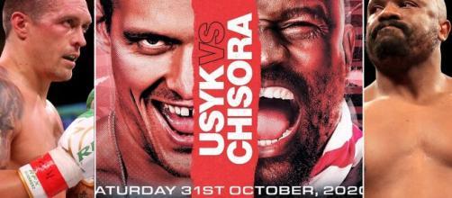 Usyk vs Chisora: il match della Wembley Arena il 31 ottobre su Dazn.