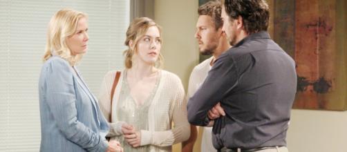 Beautiful, trama 29/10: Hope dice a Ridge che Thomas non l'ha minacciata alla scogliera.