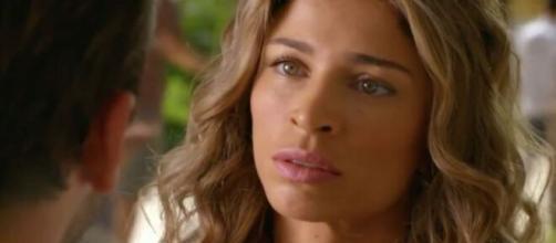 Ester em 'Flor do Caribe'. (Reprodução/ TV Globo)