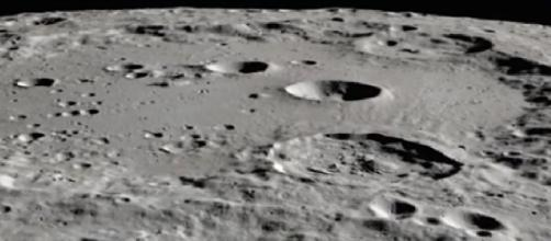 NASA discovers water on sunlit surface of Moon. [Image source/Newstalk/YouTube video]