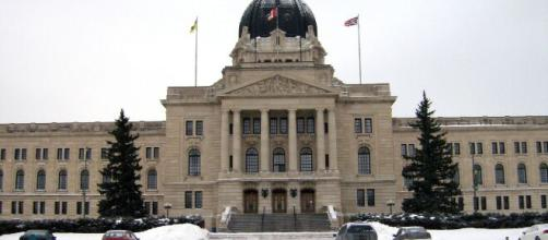 The Saskatchewan Legislative Building in Regina. [Image via Victor D - Wikimedia Commons]