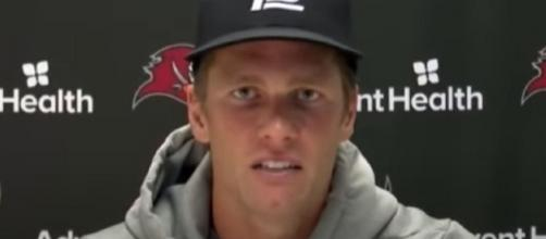 Brady is playing like a man possessed in October. [Image Source: Tampa Bay Buccaneers/YouTube]