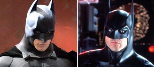Christian Bale e Michael Keaton foram alguns dos atores que interpretaram o Batman. (Fotomontagem)