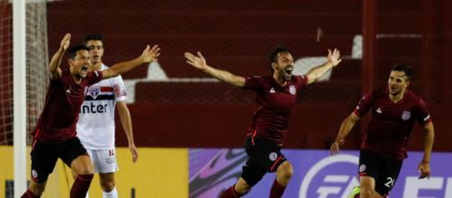 Facundo Quignón fez o gol da virada perto do fim da partida. Imagem: (Arquivo Blasting News)