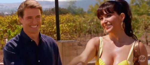 Jerônimo e Marina começam a namorar. (Televisa)