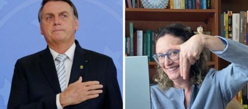 Por determinação judicial, Bolsonaro precisou se desculpar com Maria do Rosário. (Fotomontagem)
