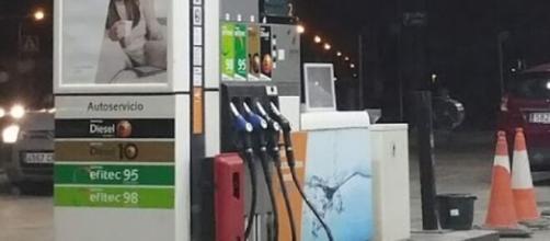 Accidente en una gasolinera del polígono de Vicálvaro