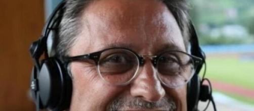 Carlo Alvino, giornalista sportivo e tifoso del Napoli.