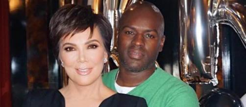 Kris Jenner y su actual compañero sentimental Corey Gamble