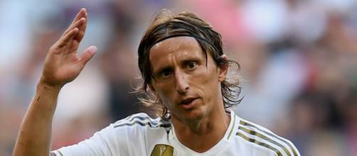 Luka Modric con la maglia del Real Madrid