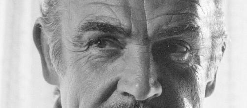 Sean Connery in una foto storica