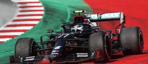 Gp dell'Emilia Romagna: Bottas in pole davanti a Hamilton.
