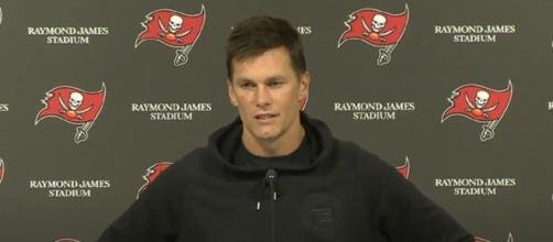 Brady's five-touchdown performance is the 7th in his career. [Image Source: Tampa Bay Buccaneers/YouTube]