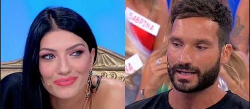 Sammy Hassan, ex U&d, su Giovanna Abate: 'Il continuo litigare porta allo sfinimento'.