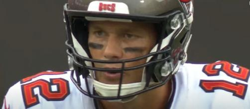 Brady broke a tie with former teammate Adam Vinatieri. [Image Source: NFL/YouTube]