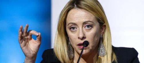 Giorgia Meloni, eletta di recente alla guida dei conservatori europei.