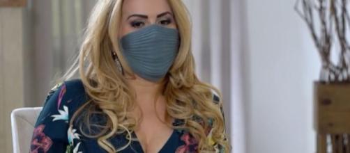 Em recente entrevista, Joelma informa como foi ter passado pela infecção do novo coronavírus. (Reprodução/TV Globo)