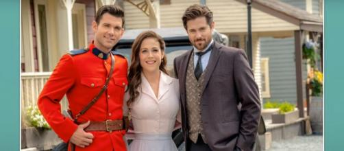 Erin Krakow of 'When Calls the Heart' will follow her heart and find romance between suitors in Season 8.[Image Source: HallmarkChannel/YouTube]