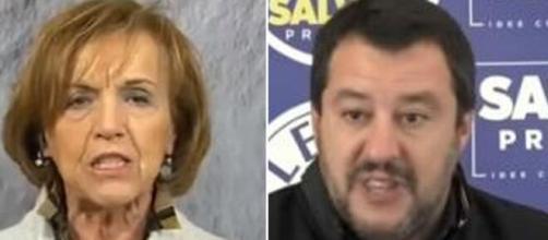 L'aria che tira, Elsa Fornero contro Matteo Salvini.