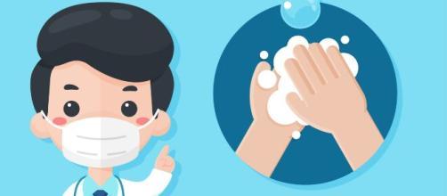 Los médicos recomiendan lavarse las manos varias veces todos los días para evitar el coronavirus.