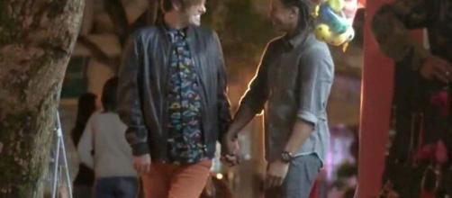 """Max e seu novo amor em """"Totalmente Demais"""". (Reprodução/TV Globo)"""