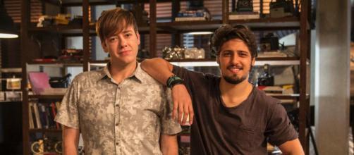 Max termina novela com um novo amor em 'Totalmente Demais'. (Reprodução/Rede Globo)