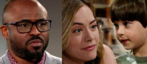 Beautiful, spoiler al 17 ottobre: il dottor Reese arrestato, Hope chiede scusa a Douglas.