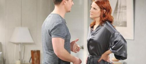 Beautiful, trama 9 ottobre: Wyatt deluso da Flo vuole tornare insieme a Sally.