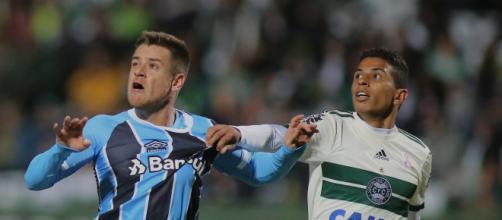 Grêmio e Coritiba não se enfrentavam desde 2017. (Arquivo Blasting News)
