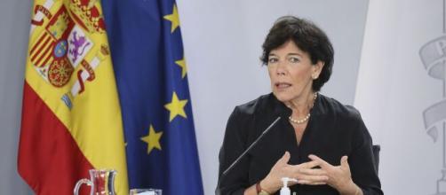 María Isabel Celaá, ministra de Educación y Formación Profesional.