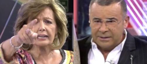 María Teresa Campos y Jorge Javier en Sábado Deluxe