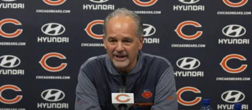 Pagano has a 0-6 record against Brady either as head coach or DC (Image Credit: Chicago Bears/YouTube)
