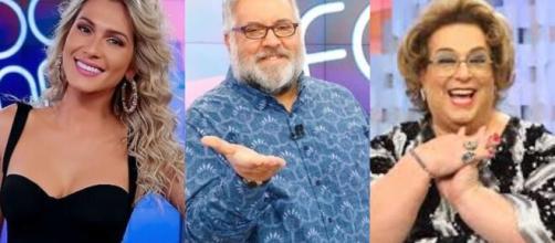 SBT demite Lívia Andrade, Leão Lobo e Mamma. (Arquivo Blasting News)