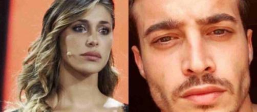 Belen Rodriguez: il fidanzato Antonino Spinalbese lancia una bottiglia contro i paparazzi.