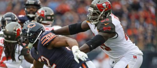 Chicago Bears e Tampa Bay Buccaneers abrem a quinta rodada da NFL. (Arquivo Blasting News)