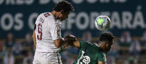 Fred lidera grupo do Fluminense. (Reprodução/Lucas Merçon/Fluminense FC)