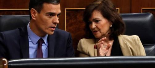 Sánchez y Carmen Calvo defienden a su compañero de Gobierno, Pablo Iglesias, ante su inminente investigación por el Tribunal Supremo