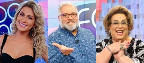 SBT demite Lívia Andrade, Leão Lobo e Mamma Bruschetta. (Arquivo Blasting News)