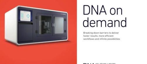 'Syntax' est la première imprimante à ADN au monde alimentée par la technologie enzymatique, source : DNA Script