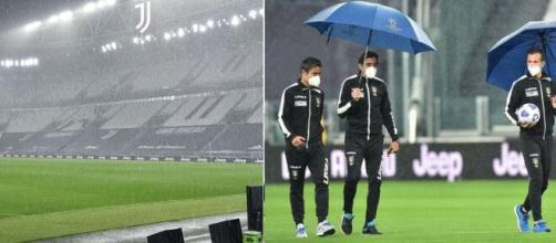le immagini della mancata disputa di Juventus-Napoli