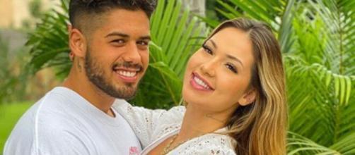 Virgínia Fonseca confirma que está grávida do cantor sertanejo Zé Felipe. (Reprodução/Instagram)