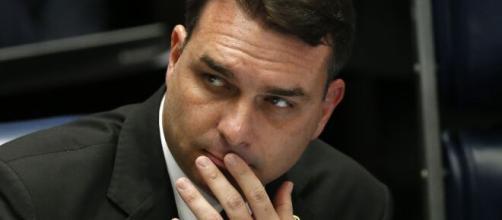 Flávio Bolsonaro foi passar o final de semana em Fernando de Noronha. (Arquivo Blasting News)