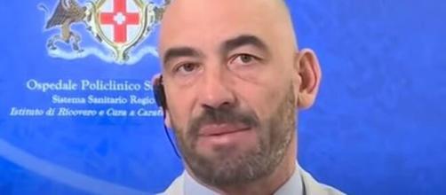 L'infettivologo del San Martino di Genova Matteo Bassetti.