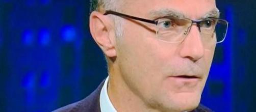 Beppe Bergomi, commentatore televisivo di Sky Sport.