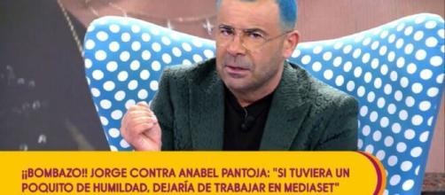 Jorge Javier Vázquez arremete contra Anabel Pantoja