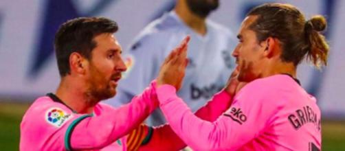 L'attitude de Leo Messi serait la raison des performances d'Antoine Griezmann - Photo Instagram FC Barcelone