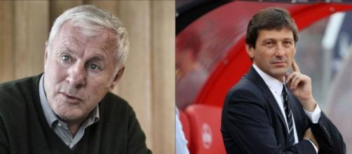 montage photo. 'Révoltés', Luis Fernandez tacle Leonardo après ses propos sur le PSG