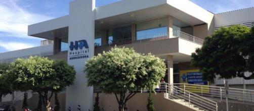 Fachada do Hospital Nossa Senhora Auxiliadora, onde a mulher está internada (Divulgação/Hospital Nossa Senhora Auxiliadora)